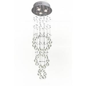 Kryształowy żyrandol wiszący 100 cm długości Slidehome
