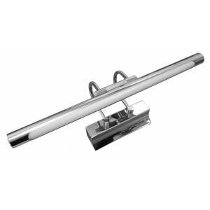 Chromowany kinkiet ścienny z regulacją kata padania światła 40 cm Slidehome
