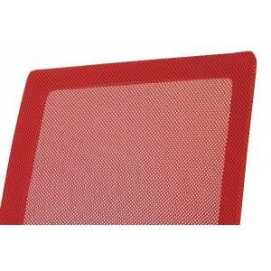 Czerwony fotel obrotowy dla dziecka Slidehome