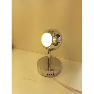 Jak wygląda lampka punktowa chromowana?