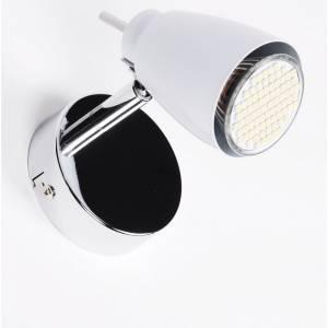 Ledowa biała lampa punktowa z włącznikiem światła