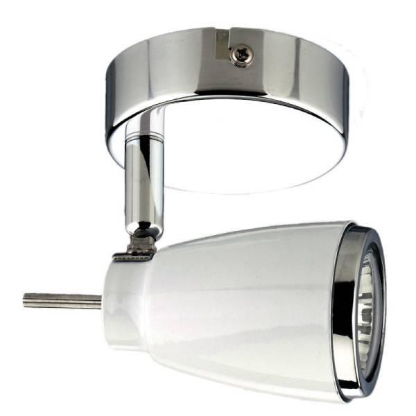 Elegancka lampka punktowa z włącznikiem