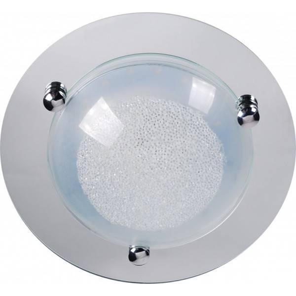 Plafon LED błyszczący okrągły glamour Slidehome