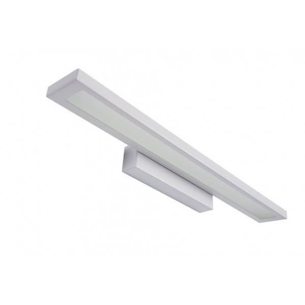 Biała Lampa ścienna Nad Lustro Nad Obraz 38 Cm Z Barwą świecenia Zimną