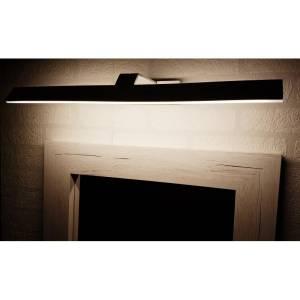 Podłużna jasna lampa nad obraz z kanciastymi bokami Slidehome