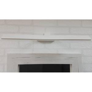 Podłużna lampa ledowa nad obraz w kolorze białym kanciasta 44 cm Slidehome