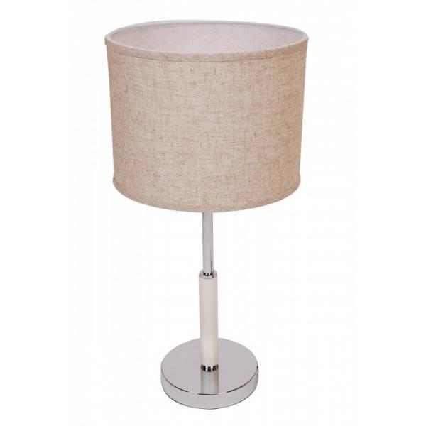 Lampka nocna stojąca ze skórzanym drążkiem Slidehome