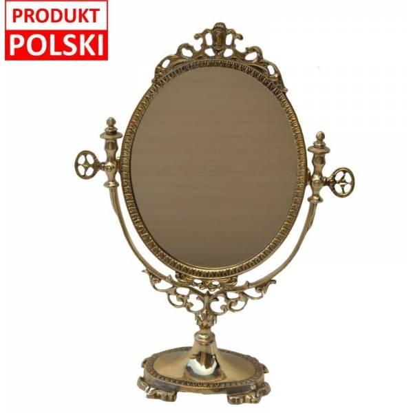 Okrągłe lustro kosmetyczne art deco